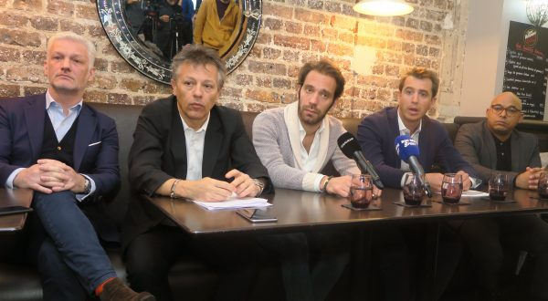 Les acteurs de la préparation du prochain Paris e-Prix