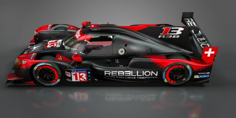 La Rebellion R13 montre son visage