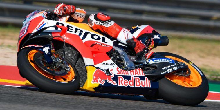 Jorge Lorenzo décroche la pole — GP d'Aragon
