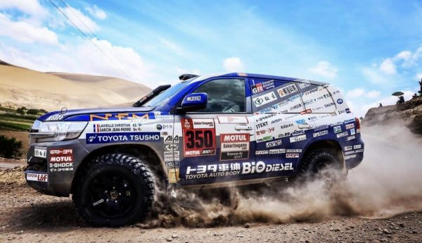 al attiyah et baumel offrent a toyota ce 17 janvier 2019 sa premi re victoire au dakar. Black Bedroom Furniture Sets. Home Design Ideas