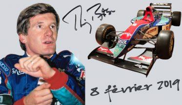 RÉTROMOBILE – RENCONTRE AVEC THIERRY BOUTSEN ET SA F1 JORDAN DE 1993