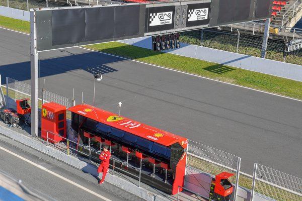 Avec Gasly, Leclerc et Ricciardo — Essais Barcelone