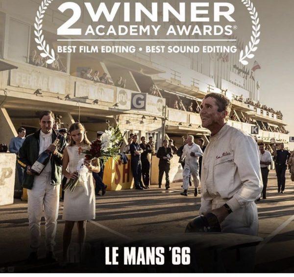 Oscars 2020 : Le Mans 66 obtient deux récompenses