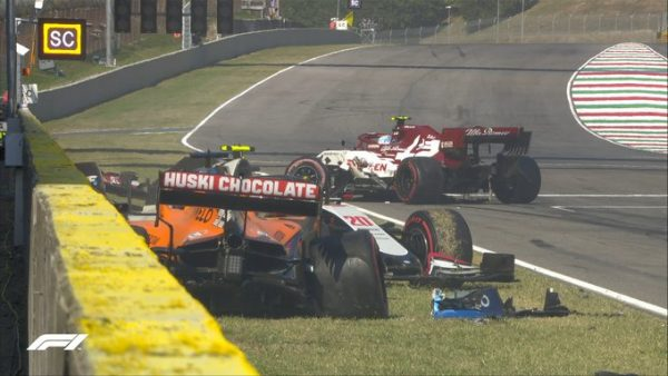 F1 2020 MUGELLO le second crash