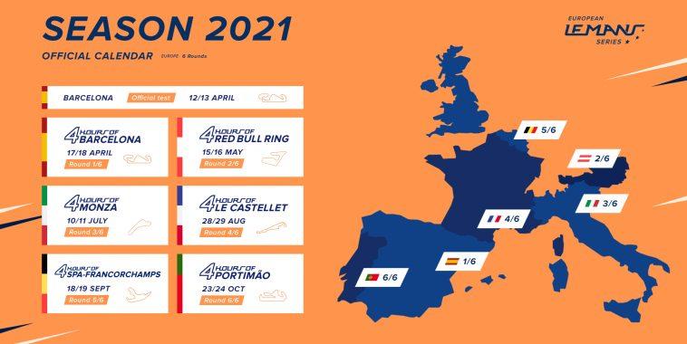 Calendrier Course De Dragster En France 2021 SIX COURSES AU CALENDRIER 2021 DE L'ELMS | Autonewsinfo
