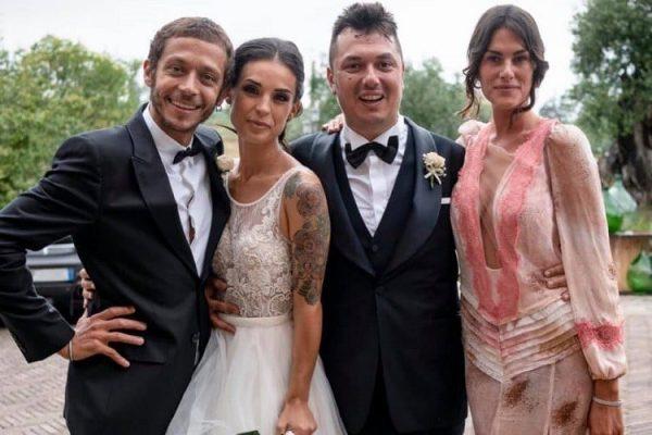 VALENTINO ET FRANCESCA TÉMOINS DU MARIAGE D'UCCIO