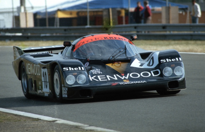 La Porsche Kremer aux 24 Heures du Mans en 1986