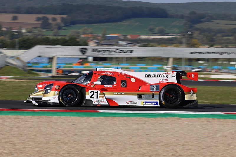 IN THE ULTIMATE CUP ENDURANCE PROTO, VICTORIA EN MAGNY DURING THE DUQUEINE OF DB AUTOSPORT